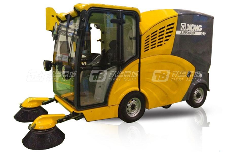 徐工SJDS1000A纯电动扫路机