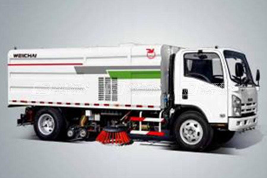 潍柴特种车YZT5100TXS洗扫车