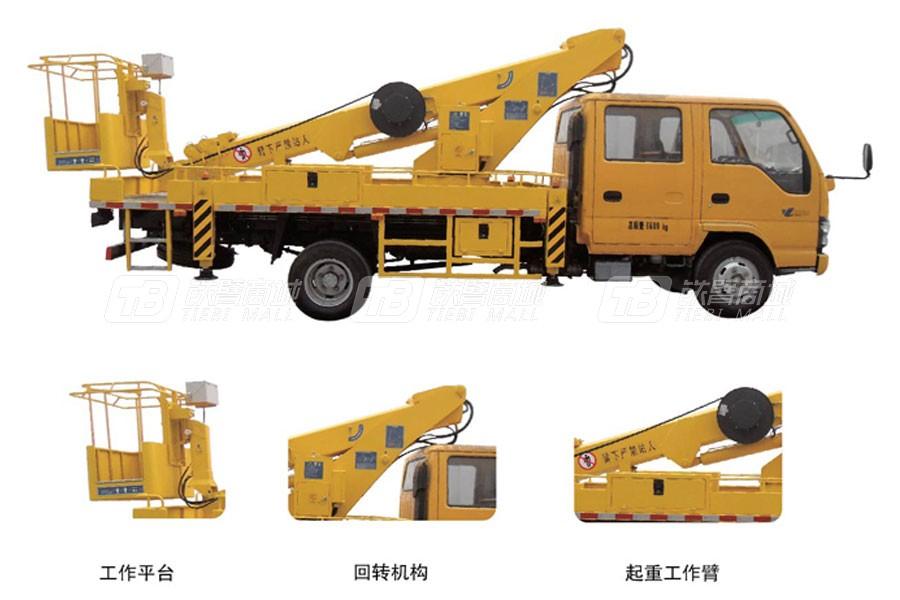石煤SMJ5070JGKQ18高空作业车/平台