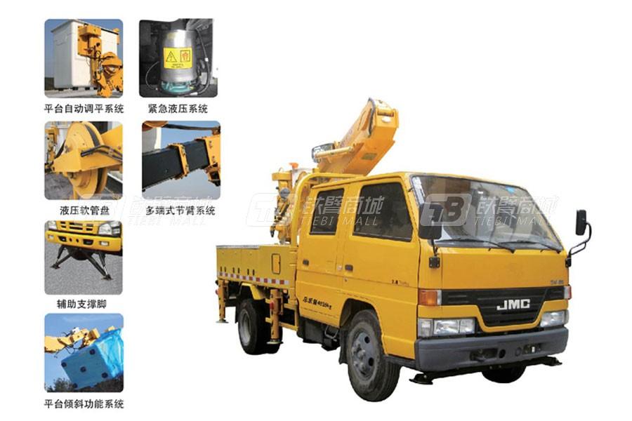 石煤SMJ5050JGKX15高空作业车/平台
