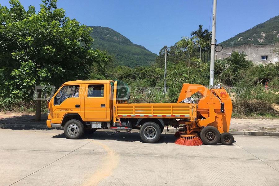 闽科TSJ-2200双滚筒扫路机