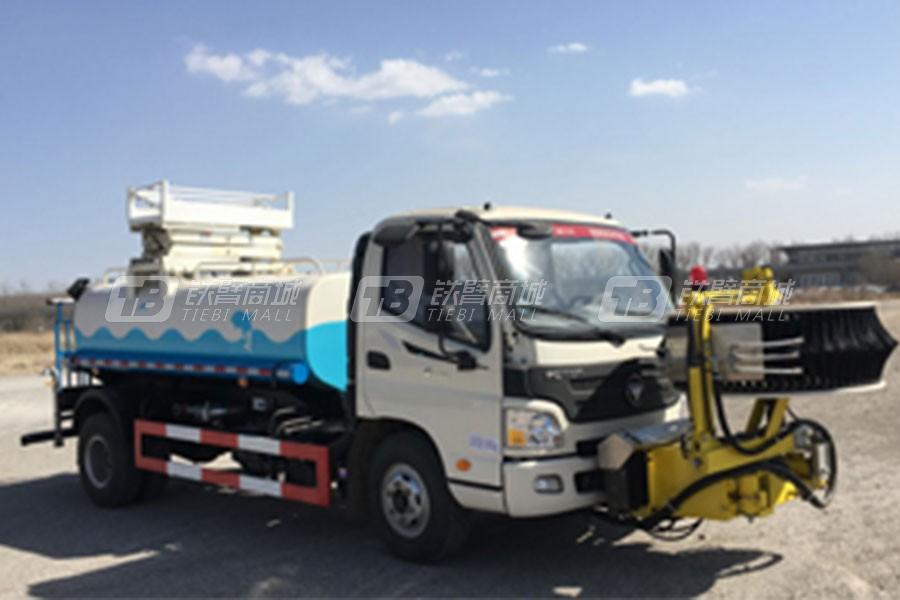 泽通CJJ5082GQX第三代护栏清洗车