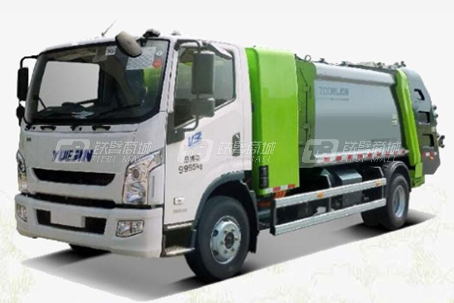 中联重科ZBH5100ZYSSHBEV美系压缩式垃圾车