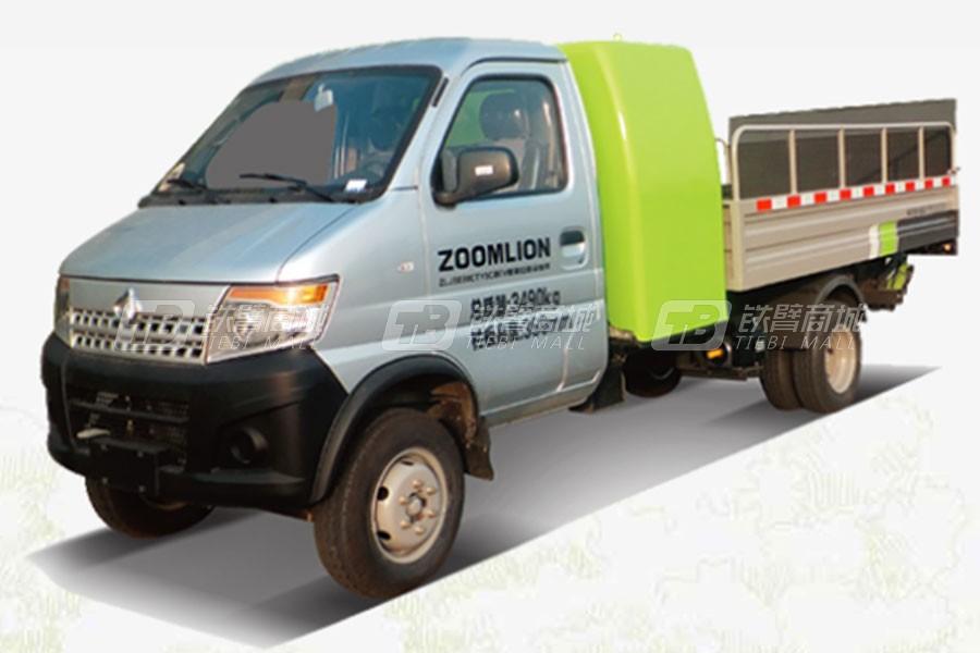盈峰环境ZBH5030CTYSCBEV桶装垃圾车