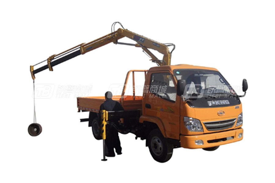 石煤QYS-3.2ZⅢ折臂式随车起重机