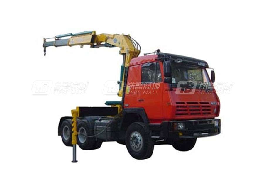 石煤QYS-10ZⅣ折臂式随车起重机