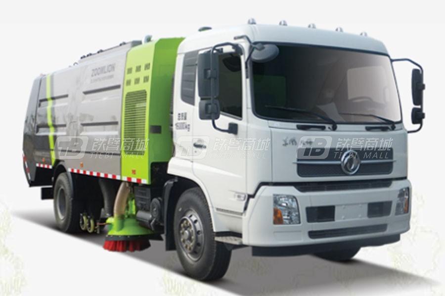 中联重科ZLJ5164TSLX1EQE5NG (LNG)干式扫路车