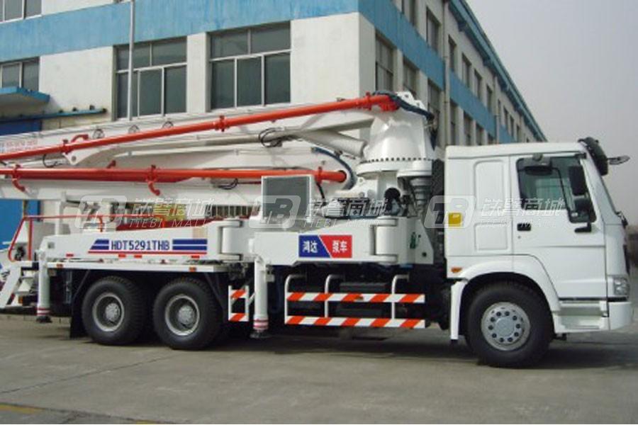 铁力士HDT5281THB-39/4混凝土泵车