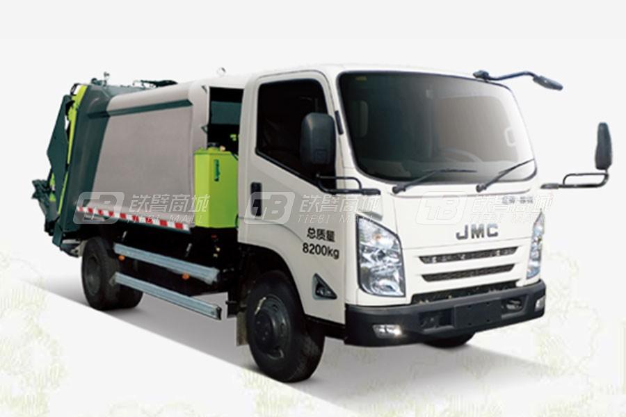 中联重科ZLJ5080ZYSJXE5美系压缩式垃圾车