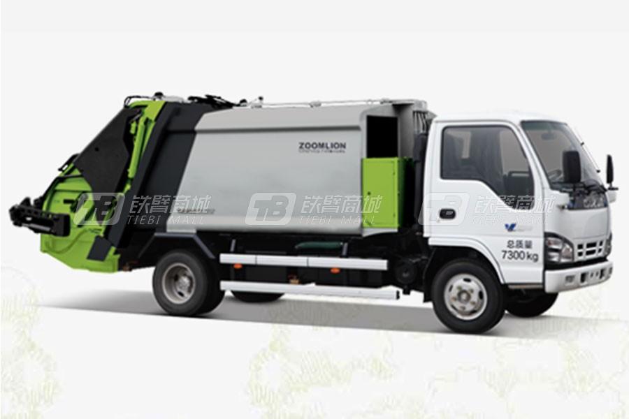 中联重科ZLJ5070ZYSQLE5美系压缩式垃圾车