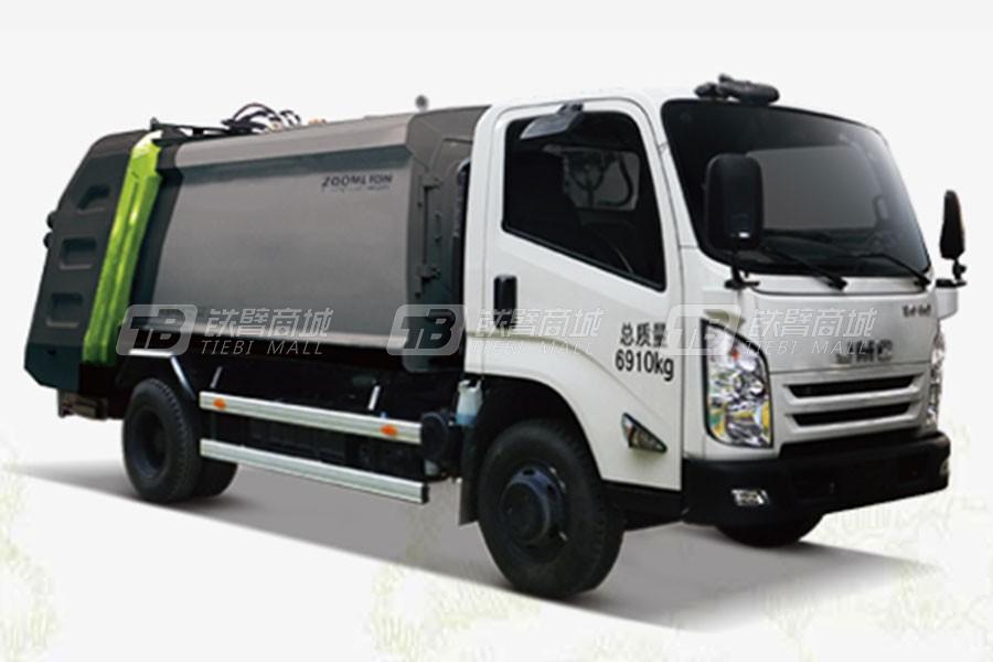 盈峰环境ZLJ5081ZYSJXE5日系压缩式垃圾车