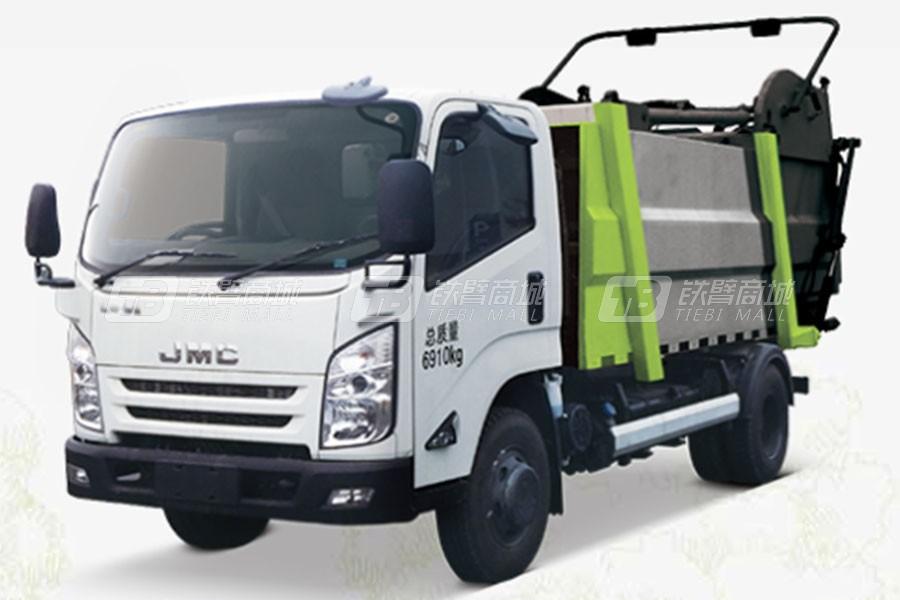 中联重科ZLJ5082ZYSJXE5无泄漏压缩式垃圾车