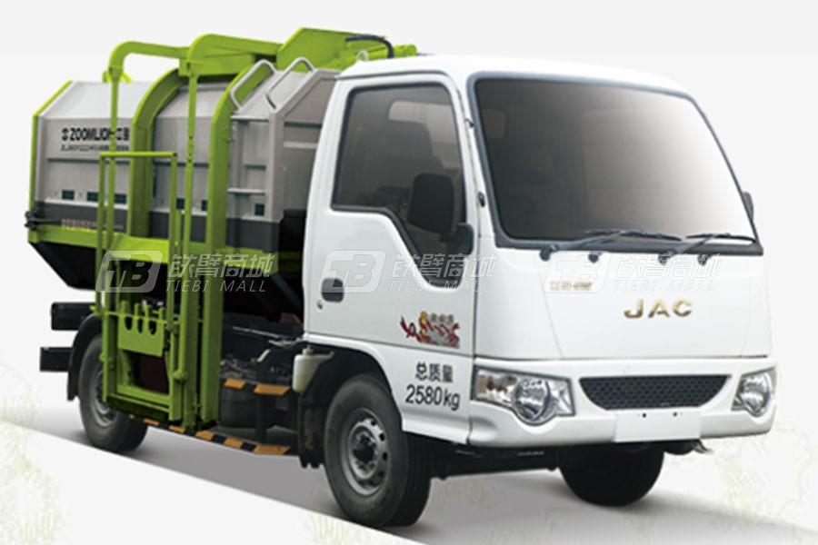 中联重科ZLJ5031ZZZHFE5自装卸式垃圾车