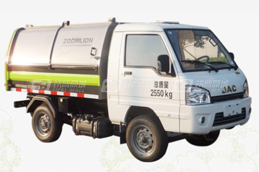 盈峰环境ZLJ5032ZDJHFE5压缩式对接垃圾车