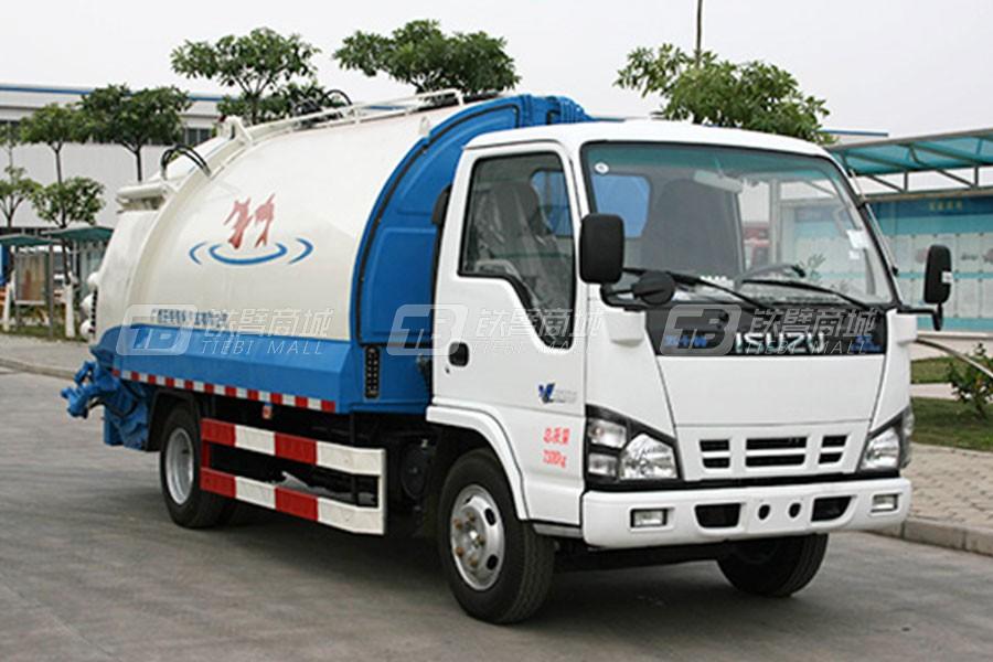玉柴专汽NZ5081ZYS圆弧箱系列压缩式垃圾车