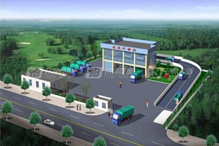 常林公司LYJSZ20水平式垃圾压缩站