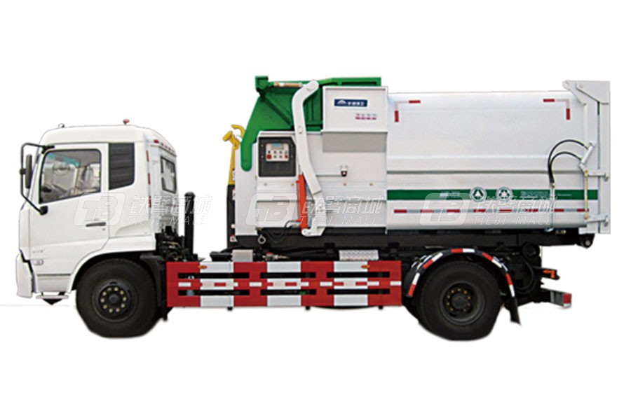 宇通环卫YTZ5180ZXX20D5车厢可卸式垃圾车