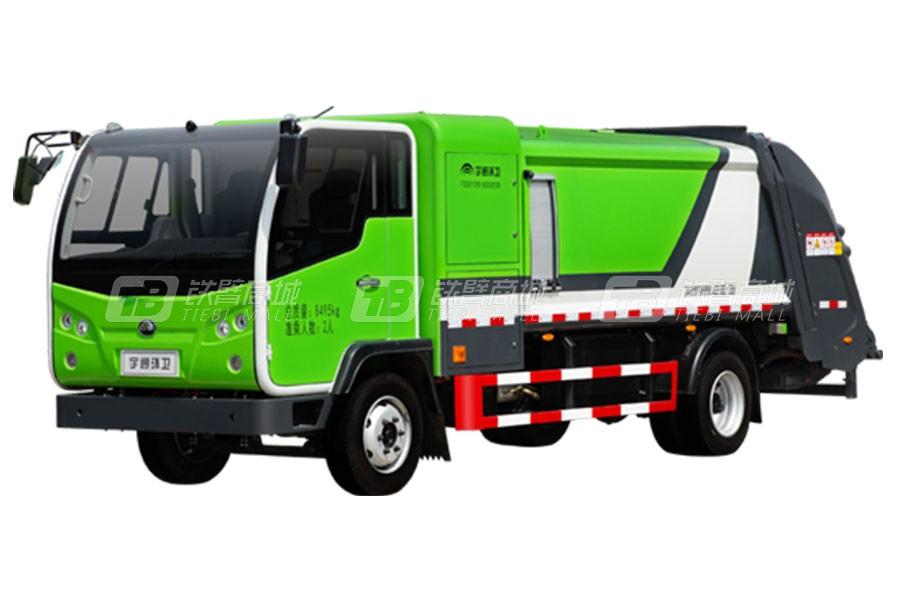 宇通环卫YTZ5080ZYSZ0BEV纯电动压缩式垃圾车