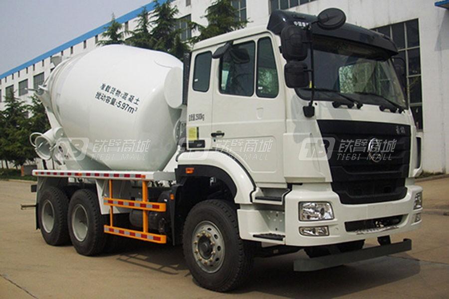 方圆FYG5253GJBD混凝土6方搅拌运输车(重汽浩瀚)