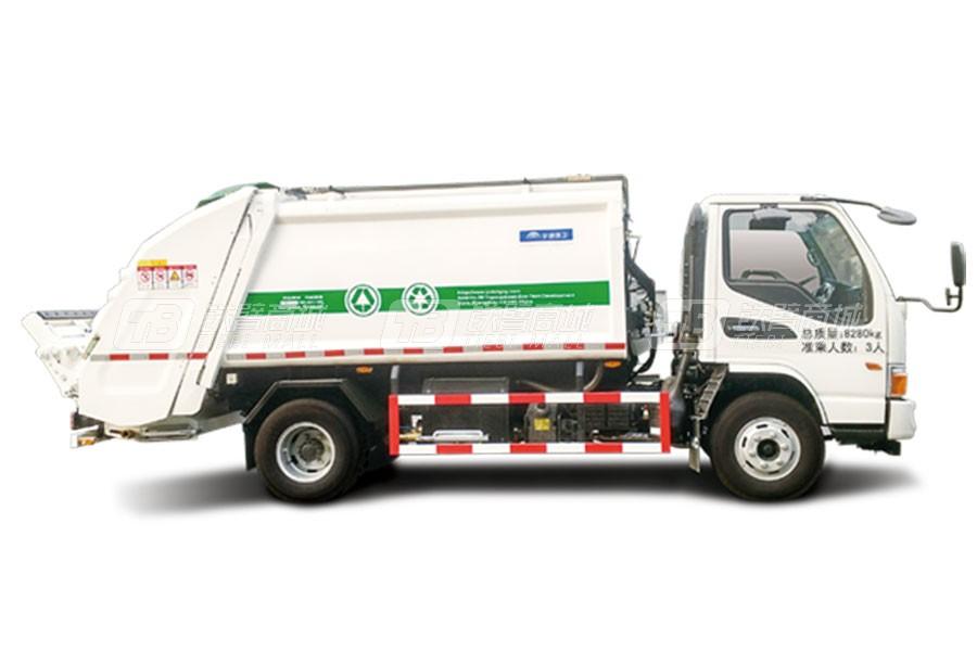 宇通环卫YTZ5080ZYS20D5压缩式垃圾车
