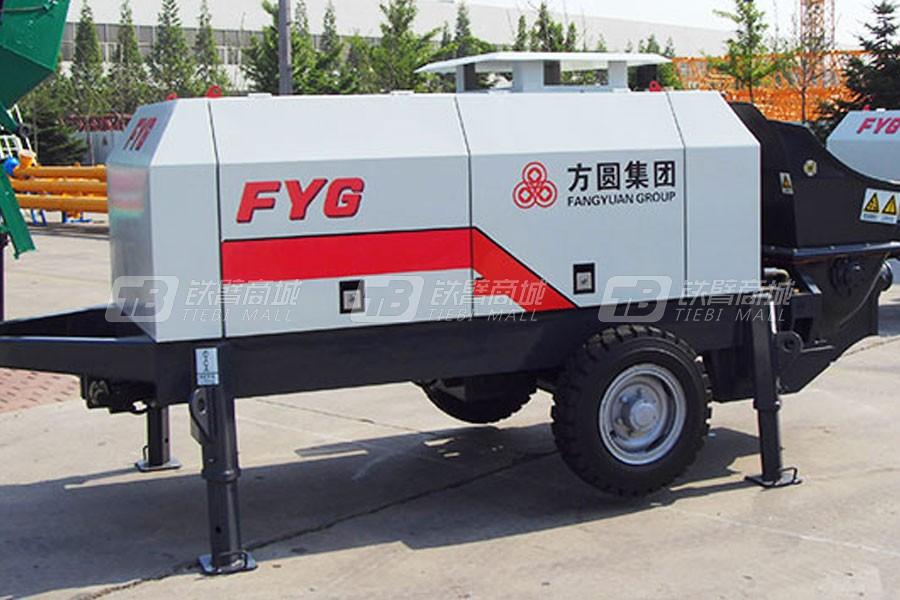 方圆HBTS40-08-75电动混凝土拖泵
