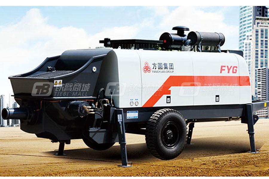 方圆HBTS80-16-195柴油机混凝土拖泵