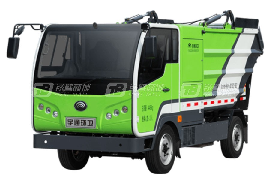 宇通环卫YTZ5040ZZZZ3BEV纯电动自装卸式垃圾车