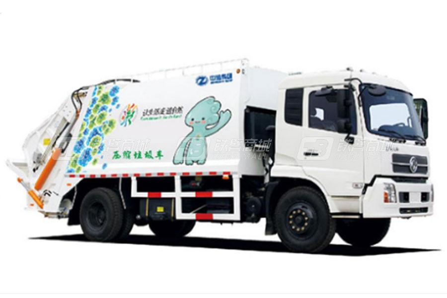 中通汽车ZTQ5161ZYSE1J38D压缩垃圾车