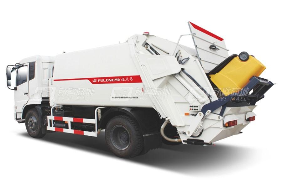 福龙马FLM5163ZYSD5K压缩式垃圾车
