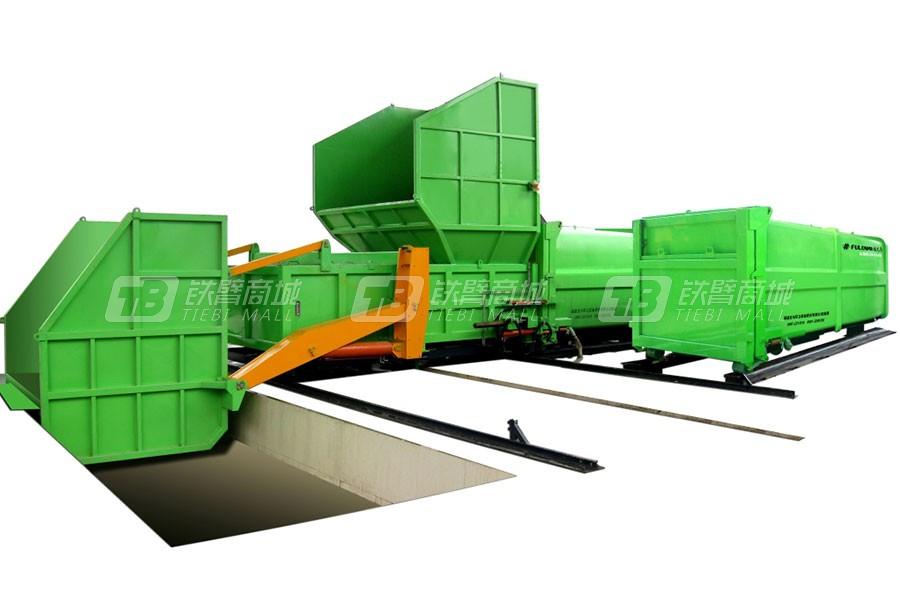 福龙马LYSY12水平式垃圾压缩机