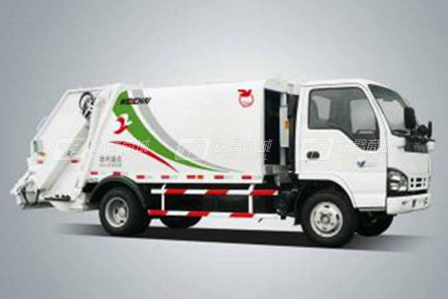 潍柴特种车YZT5070ZYSE4压缩式垃圾车