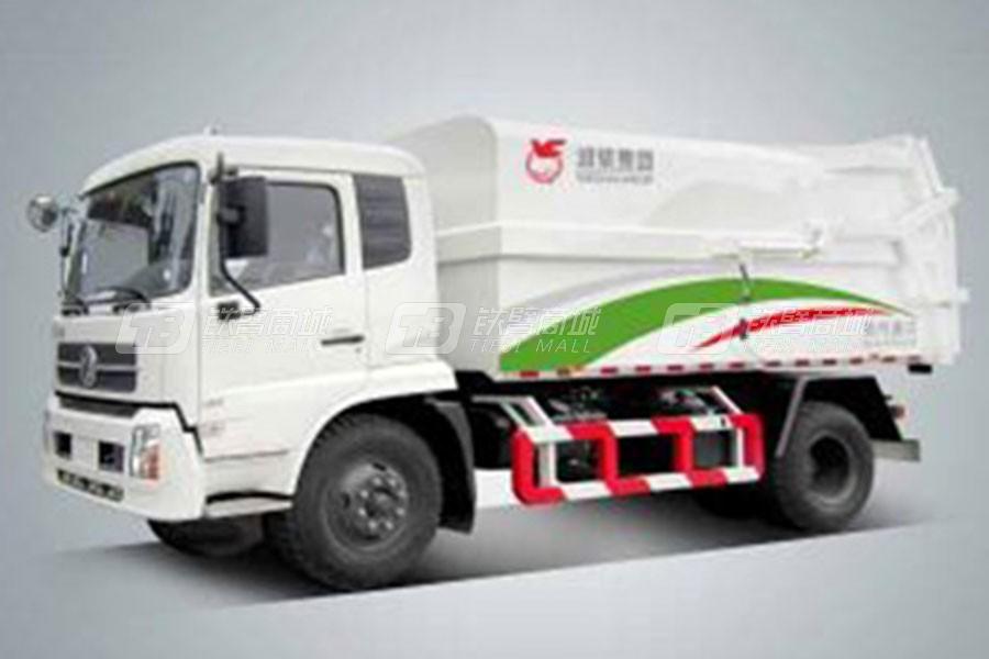 潍柴特种车YZT5161ZLJE5压缩式对接垃圾车