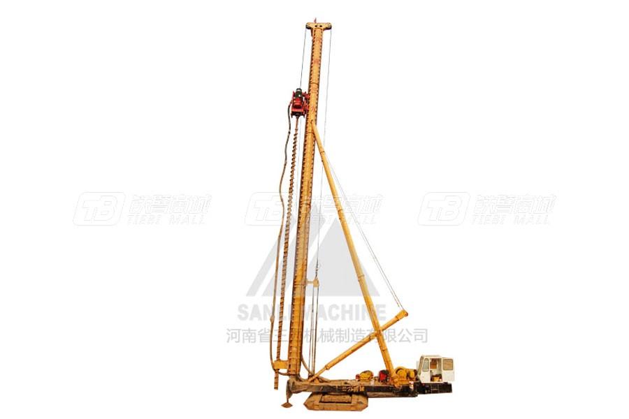 三力机械CFGHR35全液压长螺旋钻机