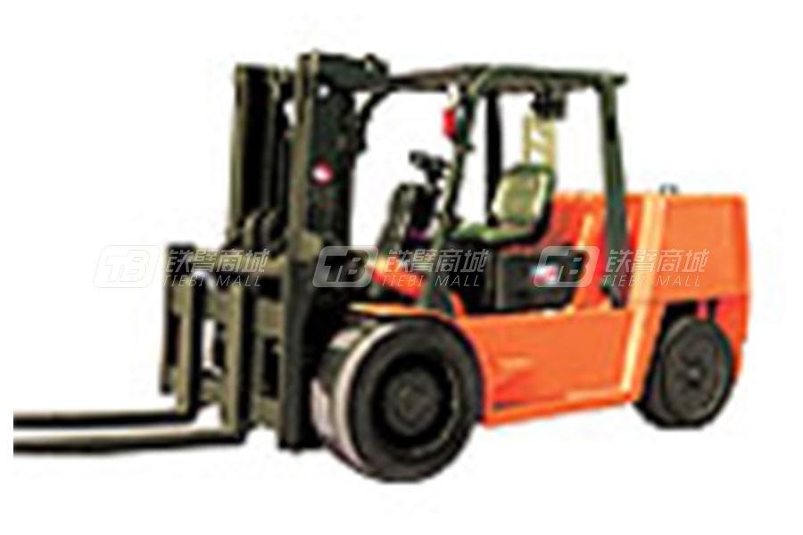 大连叉车CPCD70(国产/进口)进箱作业叉车