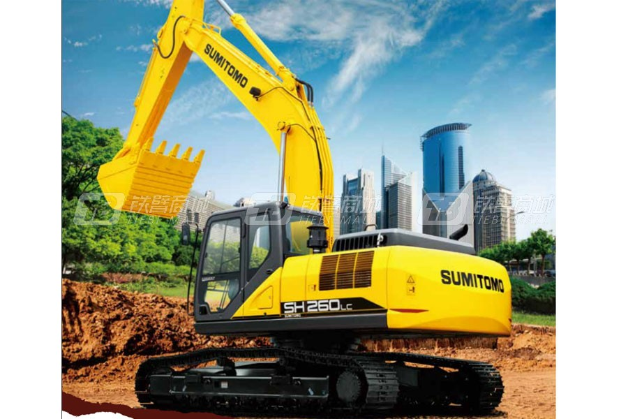 住友SH260LC-6履带挖掘机