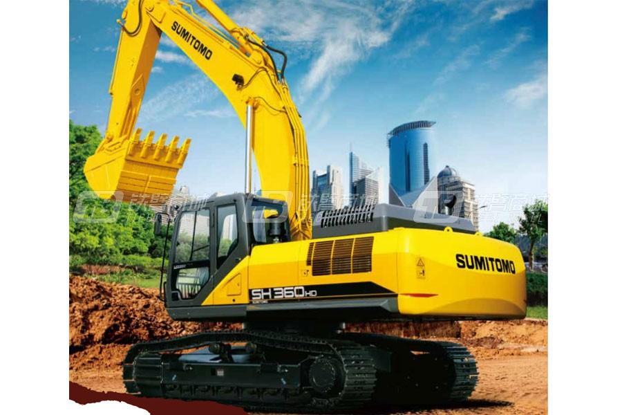 住友SH360HD-6履带挖掘机