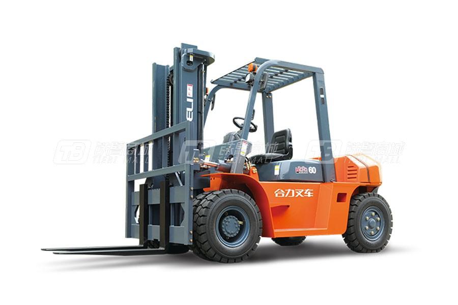 合力CPC(Q)(Y)D60H2000系列6吨柴油/汽油/液化气平衡重式叉车