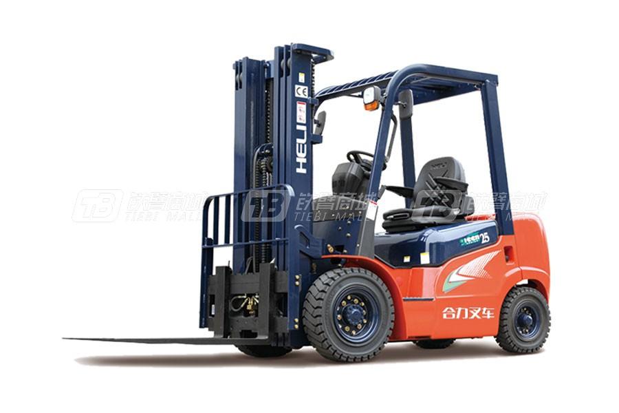 合力CPCD25/CP(Q)(Y)D25G系列2.5吨柴油/汽油/液化气平衡重式叉车