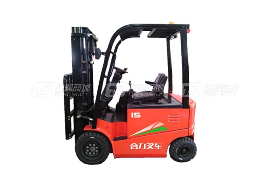 合力CPD15四支点G系列1.5吨蓄电池平衡重式叉车