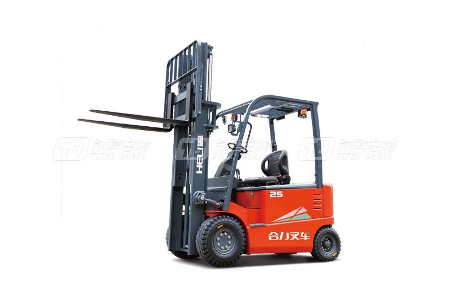 合力CPD20四支点G系列2吨蓄电池平衡重式叉车
