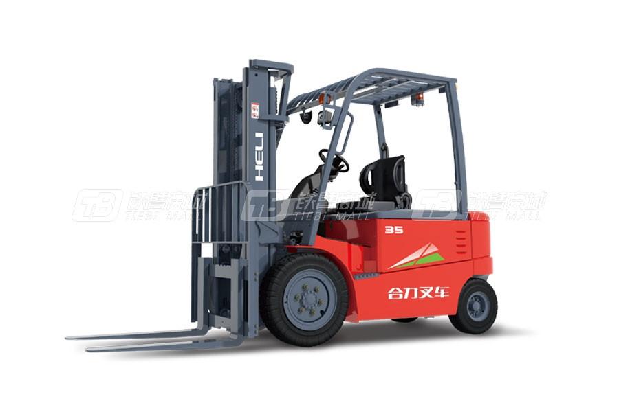 合力CPD35G系列3.5吨交流蓄电池平衡重式叉车