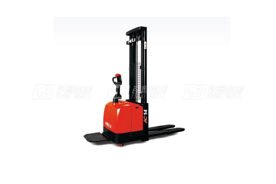 合力CDD14G系列1.4吨窄腿电动堆垛车