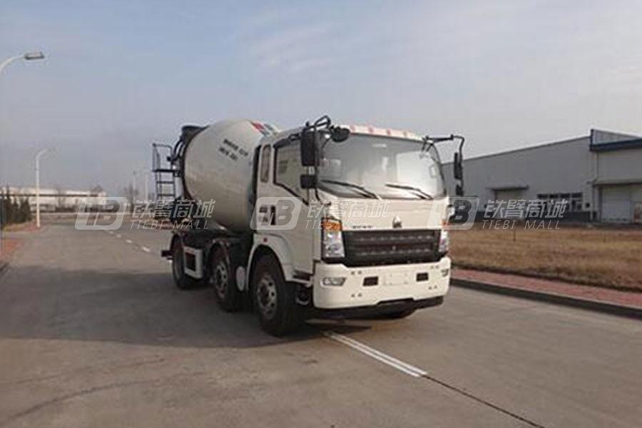 中国重汽QDZ5251GJBZHG3WD1混凝土搅拌运输车