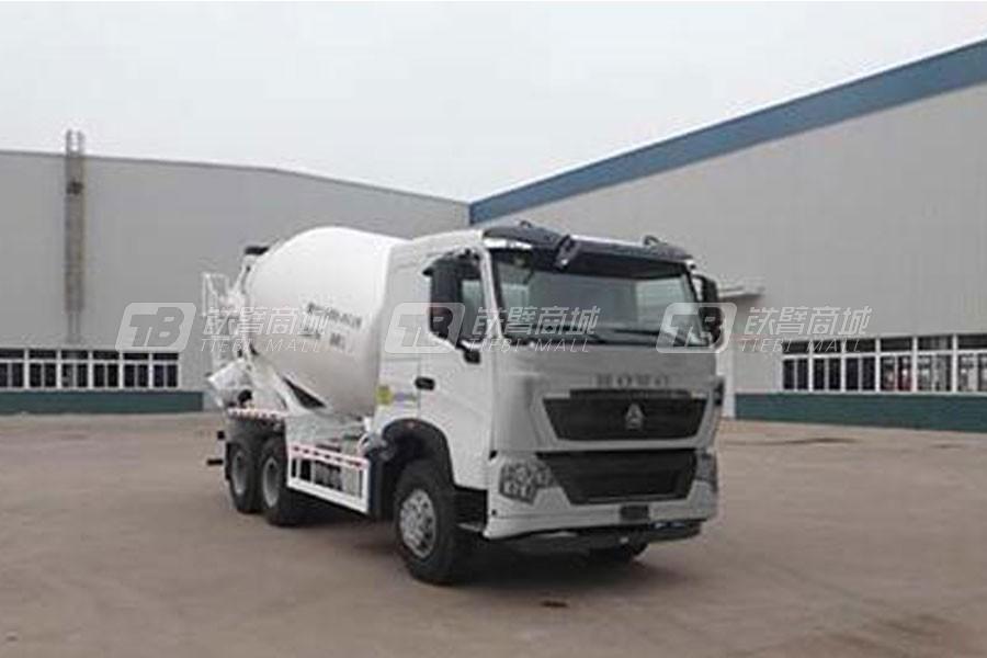 中国重汽QDZ5259GJBZHT7H混凝土搅拌运输车