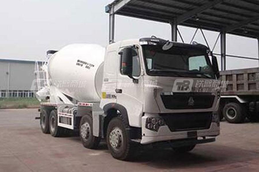 中国重汽QDZ5318GJBZHT7H混凝土搅拌运输车