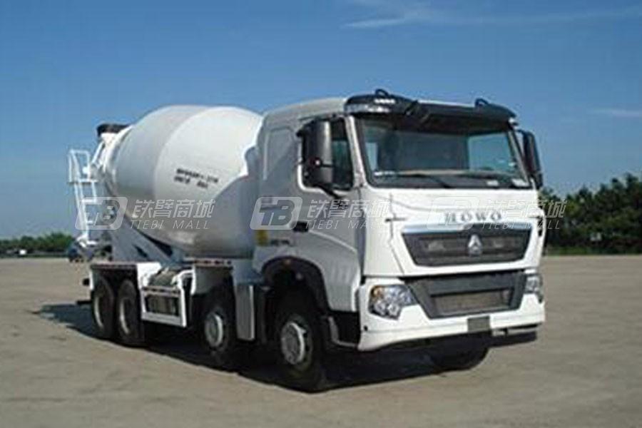 中国重汽QDZ5316GJBZHT7H混凝土搅拌运输车