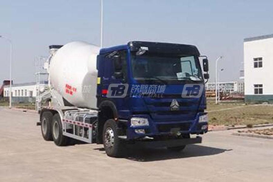 中国重汽QDZ5250GJBZH43D1混凝土搅拌运输车