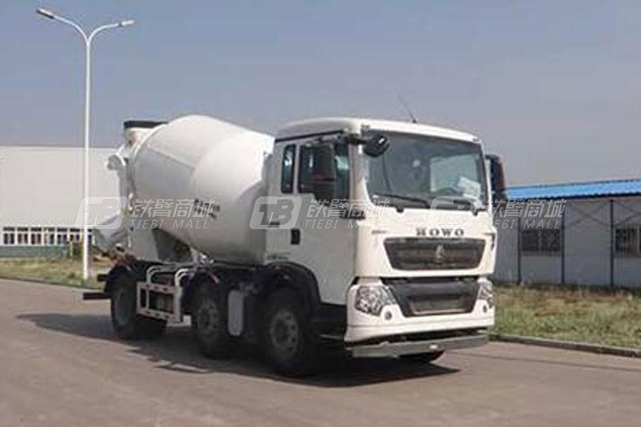 中国重汽QDZ5251GJBZHT5GD1混凝土搅拌运输车