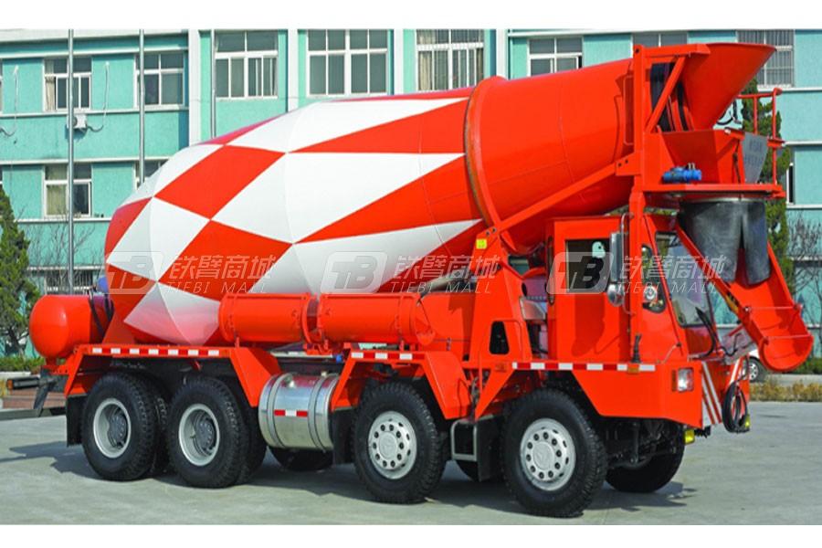 中国重汽 QDZ5321GJBQ混凝土搅拌运输车