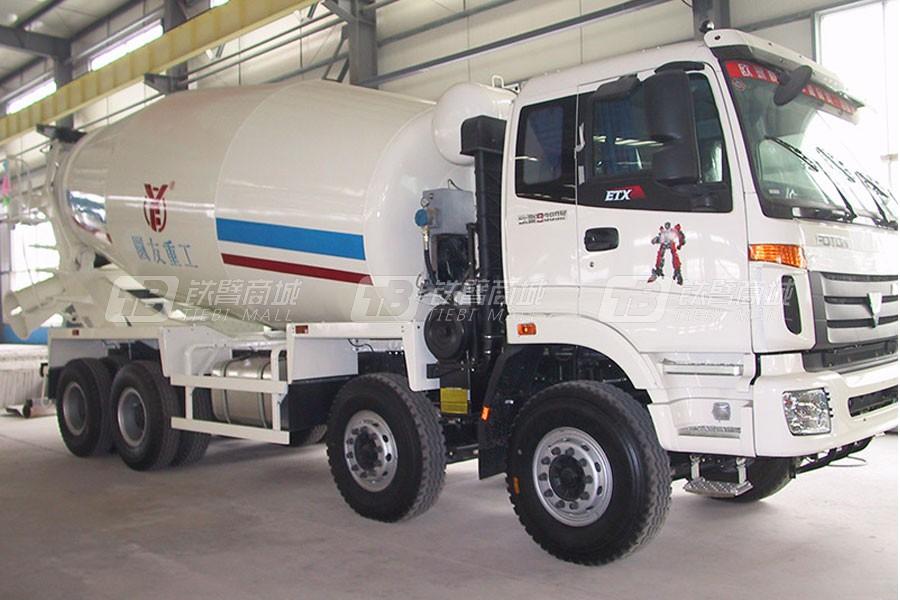 圆友重工BJ5253GJB-2混凝土搅拌运输车